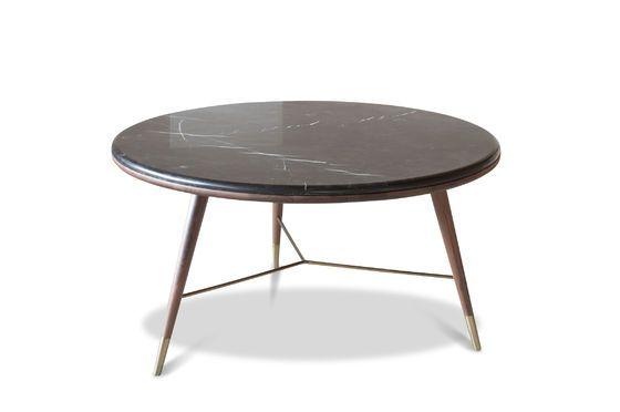 Zwart marmeren salontafel Sivärt Productfoto