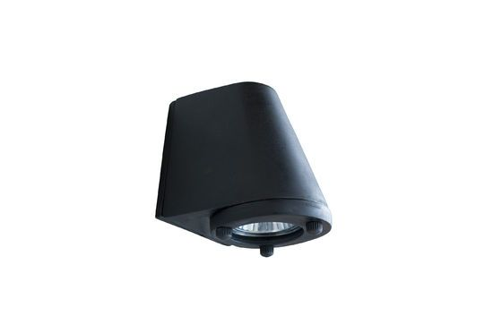 Zwarte buitenwandlamp Aix Productfoto