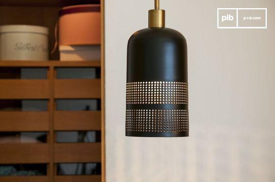 Zwarte hanglamp Johanna
