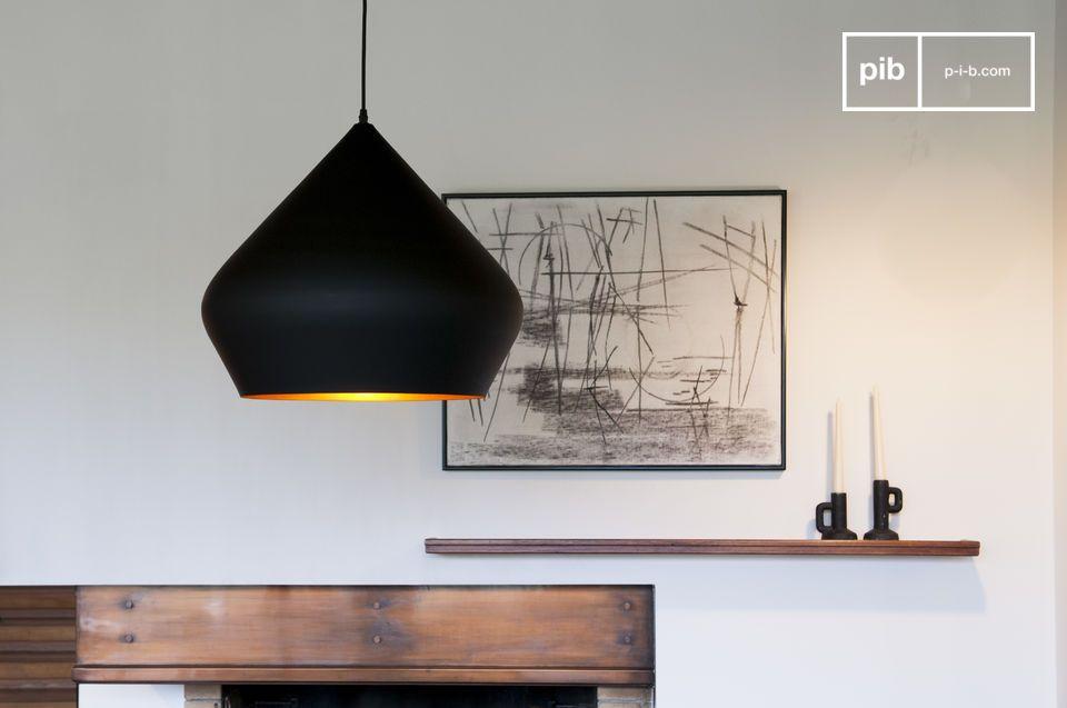 Zwarte hanglamp Liselotte