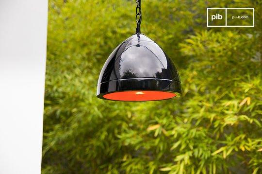 Zwarte Këpsta hanglamp