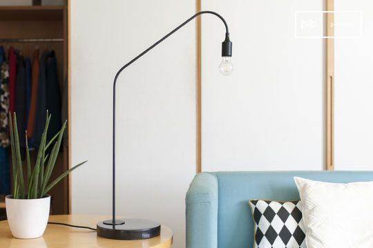Zwarte tafellamp Mogens